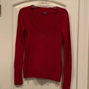 Deep Red Sweater